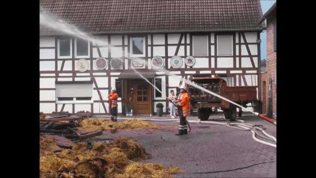 Brand in Bortfeld