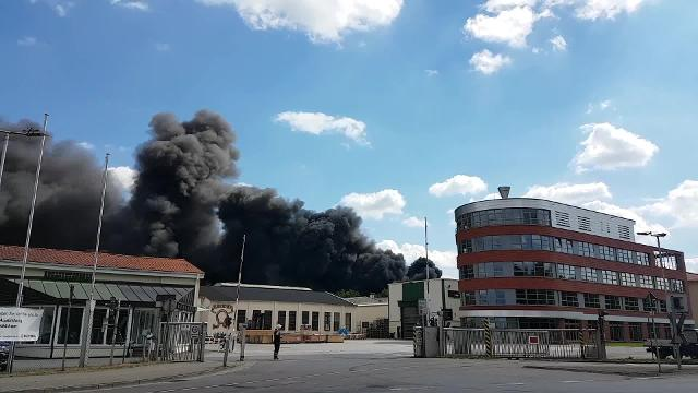 Großbrand bei Butting in Knesebeck