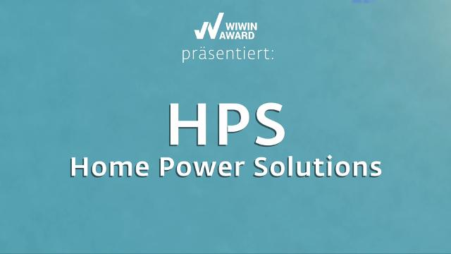 """WIWIN AWARD Kandidat """"HPS HOME POWER SOLUTIONS"""""""