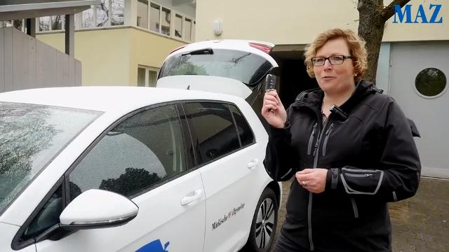 E-Car-Test mit Startproblemen