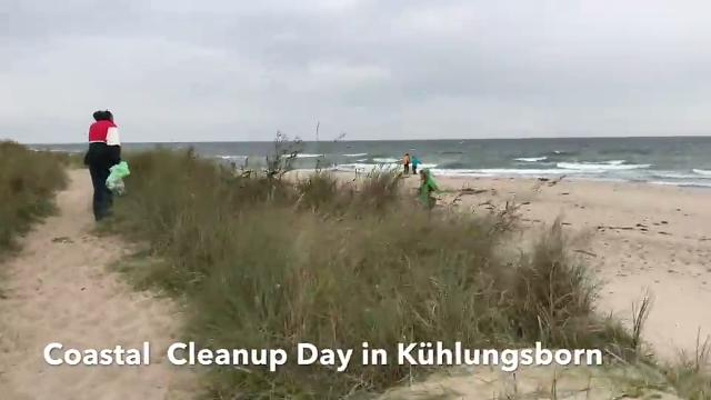 Coastal Cleanup Day Kühlungsborn 2018